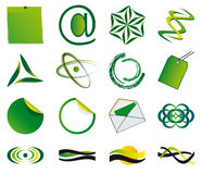 Set of symbols Stock Photography