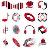 Set of symbols Royalty Free Stock Photos