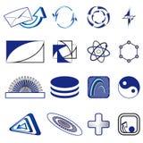 Set of symbols Royalty Free Stock Photography