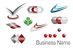 Set of symbols Royalty Free Stock Photography