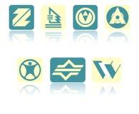 Set of symbols Stock Photo