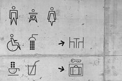 Set of symbols Stock Images