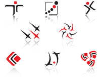 Set of symbols Royalty Free Stock Image