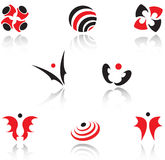 Set of symbols Royalty Free Stock Photo