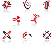 Set of symbols Stock Image
