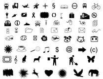 Set symbols Royalty Free Stock Photo