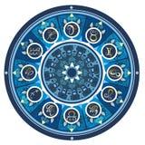 Set symbolu zodiaka znak Zdjęcia Royalty Free