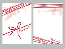 Set szablony dla stron, pokrywa, falcówka Tło wizerunek, Doodle rysunek Miejsce dla twój teksta Kreatywnie pojęcie ilustracja wektor