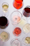 Set szkła z winem Obraz Stock