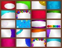 Set wizytówki Obraz Stock