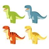 Set of t-rex Stock Photo
