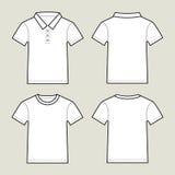 Set T-Shirts Lizenzfreie Stockfotografie