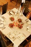 Set Table Royalty Free Stock Photography