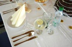 set table Стоковые Изображения RF