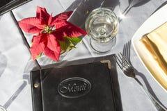 set table 免版税图库摄影