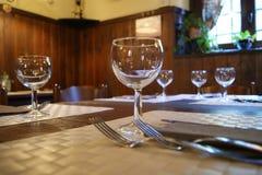set table Стоковое Изображение RF