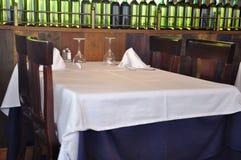 set table Στοκ εικόνα με δικαίωμα ελεύθερης χρήσης