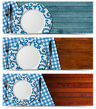 Set of Table Arrangement Royalty Free Stock Photography
