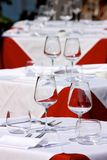Set tables Royalty Free Stock Images