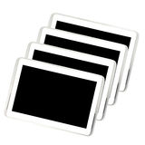 Set of tablet Stock Photography
