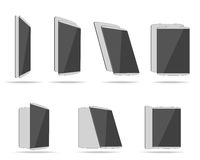 Set tablet computers Royalty Free Stock Photo