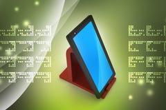 set tablet för datorsymbolsskärm Arkivbild