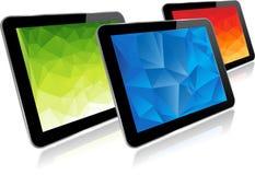 set tablet för datorsymbolsskärm Arkivfoton