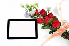 set tablet för datorsymbolsskärm Royaltyfria Foton