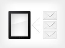 Set of Tablet PC Royalty Free Stock Photography