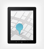 Set of Tablet PC Royalty Free Stock Photo