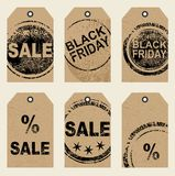 Set of tags Royalty Free Stock Photography