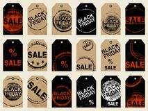 Set of tags Royalty Free Stock Photo