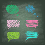 Set of Talking bubble. Royalty Free Stock Photography