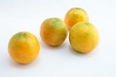 Set of tangerines Royalty Free Stock Photos