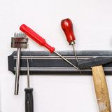 Set of tanner hand tools Stock Photography