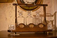 set tappning för alkoholkök Royaltyfri Fotografi