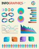 set tappning för infographics Detta är sparar av EPS10 formaterar Arkivfoton