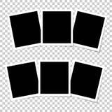 set tappning för ramfoto Arkivfoto