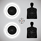 Set the targets Royalty Free Stock Photo