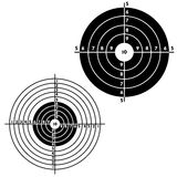 Set Targets For Practical Pistol Shooting Stock Images