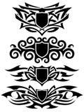 set tatuering Royaltyfri Bild
