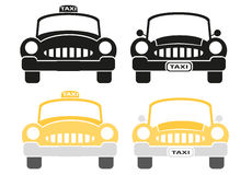 Set of taxi sign Royalty Free Stock Image