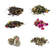 Set of tea Stock Photo