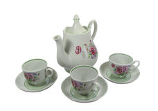 set tea Στοκ εικόνα με δικαίωμα ελεύθερης χρήσης