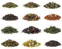 Set of tea stock images