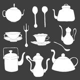 Set of Tea accessories. Stock Photo