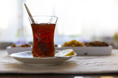Set for tea in Azerbaijan Stock Images