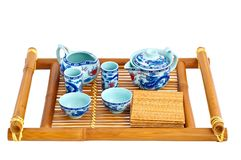 Set for tea ceremony Royalty Free Stock Photo