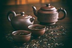 Set for tea ceremony Stock Photos