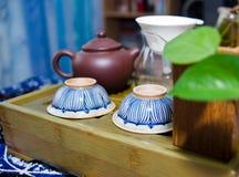 set tea för kines Royaltyfri Bild